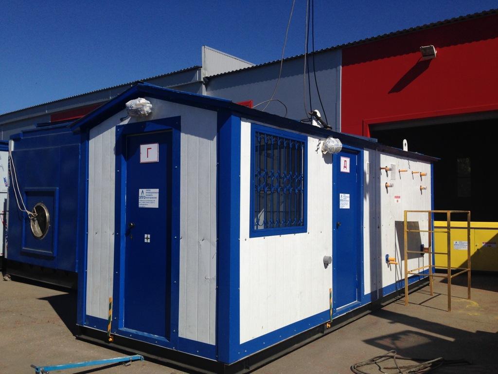 Отгружены шкафные газорегуляторные пункты в Брянск и Темников